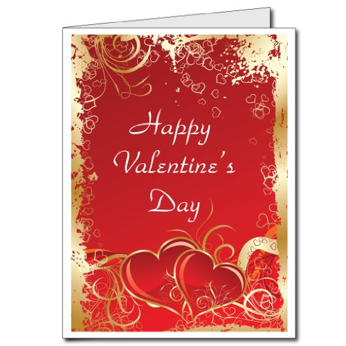 2 x3 Giant Valentines Day Card WEnvelope – Big Valentines Cards