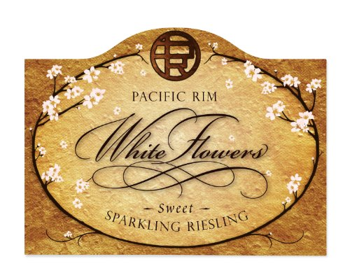 Pacific Rim Winery NV Pacific Rim White Flowers Sweet Sparkling Riesling 750 mL