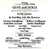 Frank Loesser Guys and Dolls - Original Cast