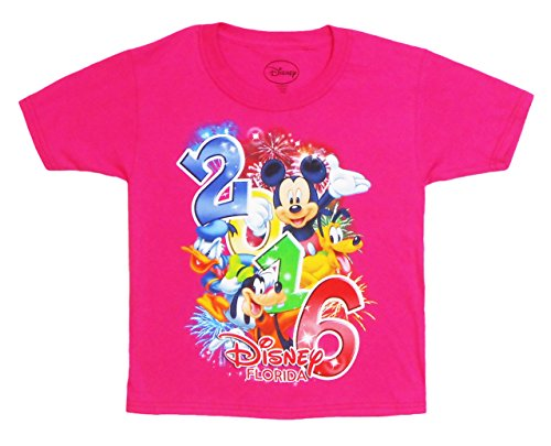 Disney Toddlers 2016 Four Stars Tee 2T Pink