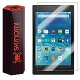 "Skinomi® TechSkin - Amazon Fire HD 8 Screen Protector 8"" [2015] Premium HD Clear Film w/ Free Lifetime Replacement Warranty / Ultra High Definition Invisible & Anti-Bubble Crystal Shield"