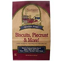 Namaste Foods, Gluten Free Biscuits, Piecrust & More, 48-Ounce Bags (Pack of 6) by Namaste Foods