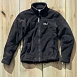 JACK WOLFSKIN Moonrise Jacket W black (Size: L) fleece jacket