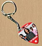 Rage Against The Machine Premium Guitar Pick Keyring