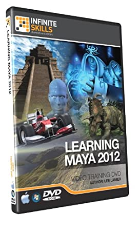 Maya 2012 Training DVD - 12 Hours. Works on PC or Mac