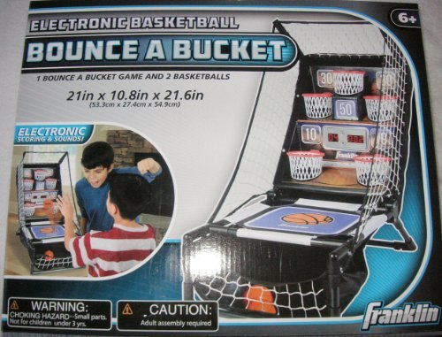 Bounce A Bucket Electronic Basketball Tabletop Game Franklin by Unknown günstig online kaufen