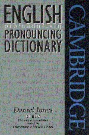 English Pronouncing Dictionary, Daniel Jones