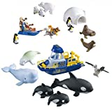 Animal Planet Polar Play Set with Igloo and Rescue Boat