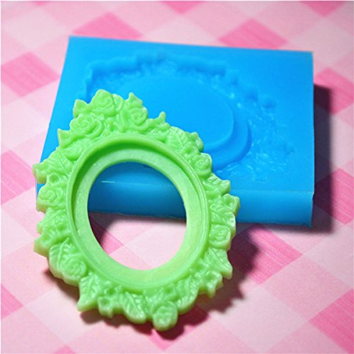 Ornate Victorian Frame Setting Silicone Push Mold