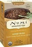Numi Organic Tea Honeybush, Herbal Teasan, 18 Count Tea Bags (Pack of 3)