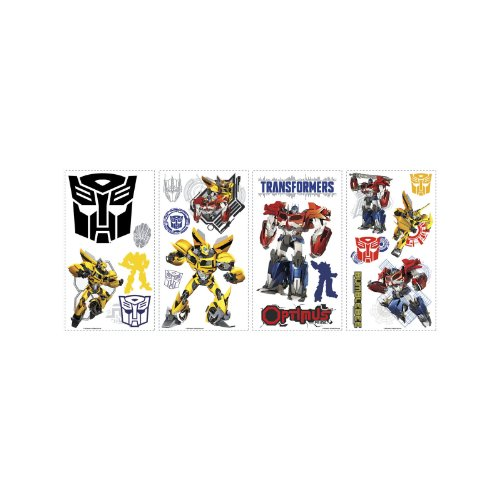 RoomMates Transformers Autobots Peel and Stick Wall Decals - 1