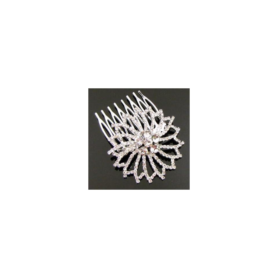 Austrian Rhinestone Hair Comb [Rc19]