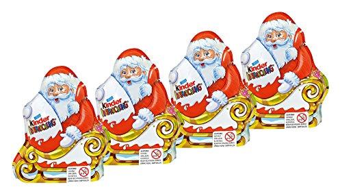 Kinder Surprise Chocolate Santa 75g (pack of 4)