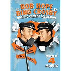 The Bob Hope and Bing Crosby Road to Comedy Collection