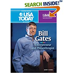 Bill Gates: Entrepreneur and Philanthropist (Lifeline Biographies) by Jeanne M. Lesinski (Library Binding - Sep 2008)