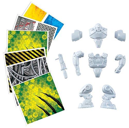 RoseArt Graphic Skinz Design Set (3-Piece), Robot Toy - 1