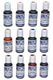 Ateco 1112 12-Color Food Coloring Kit, 0.75 Ounce