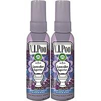 2-Pack Air Wick V.I.Poo Pre-Poo Toilet Spray Value Pack Lavender Superstar (1.85 oz Each)