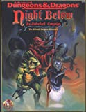 Night Below: An Underdark Campaign (AD&D Fantasy Roleplaying, 1125) (0786901799) by Sargent, Carl