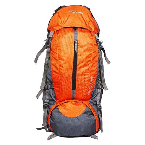 Da Tasche Climb High 75L Orange Rucksack