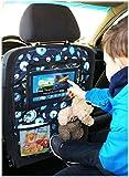 Auto asiento trasero Tablet iPad Organizador Multi Funda Protector de espalda de asiento nr 5 [007]