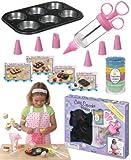 Children's professional quality Cutie Cupcake Baker Set *Perfect Gift Idea*