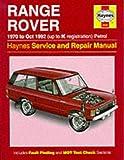 Range Rover Service and Repair Manual (Haynes Service and Repair Manuals)