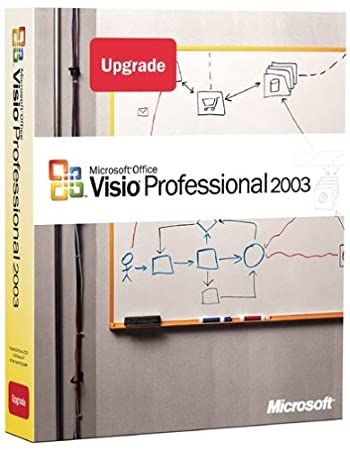 Microsoft Visio Professional 2003 Upgrade [Old Version]