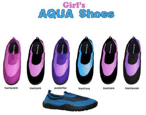 Ddi 678357 Girls Aqua Shoes Case Of 36 front-1042612