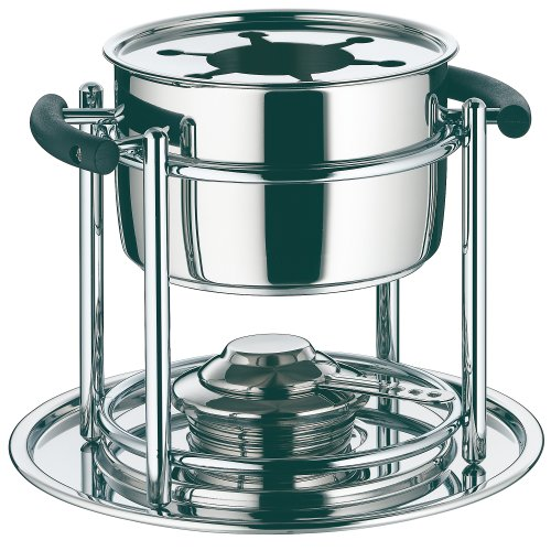 WMF Allegro Fondue Set, 18/10 Stainless Steel, 11 Pieces