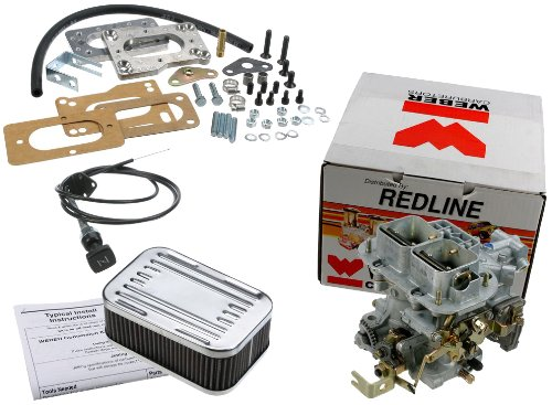 Weber Redline Carburetor Kit 38 DGMS Outlaw - Manual Choke (1988 Toyota Pickup Carburetor compare prices)