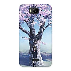 Enticing Premier Cherry Blossom Multicolor Back Case Cover for Honor Bee