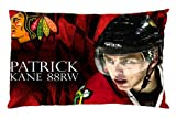 Pandora Star Patrick Kane Chicago Blackhawks Custom Zippered Pillow Case Cover 20x30 (Twin sides) at Amazon.com