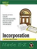 Incorporation Made E-Z (Made E-Z Guides) (156382468X) by Made E-Z