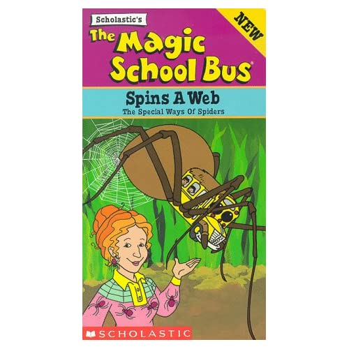 The magic school bus spins a web vhs