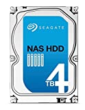 Seagate NAS HDD - 4 TB - interne Festplatte, ST4000VN000 (3,5 Zoll), 5900rpm, 64 MB Cache, SATA III für NAS-Betrieb