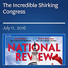 The Incredible Shirking Congress Periodical by Mike Lee Narrated by Mark Ashby
