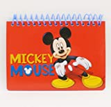 Disney Mickey Mouse Spiral Autograph Book - Red