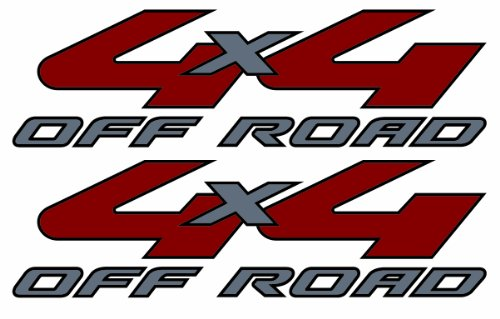 4x4 Decals - 2008 to 2010 Ford Style (For Light