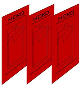 HOKO 3X Matte Screen Protector Scratch Guard For Samsung Galaxy S4 i9500 (Pack of 3)