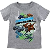 Disney Cars Mission Improbable Grey Toddler T-Shirt