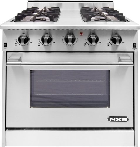 Nxr Drgb3001 30 Stainless Steel Gas Sealed Burner Range - Convection