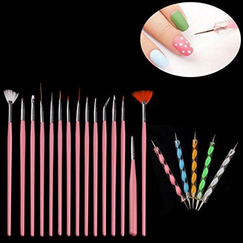 oyedens-20-tlgs-nail-art-punktierung-malereizeichnung-lack-pinsel-stift-tools-rosa