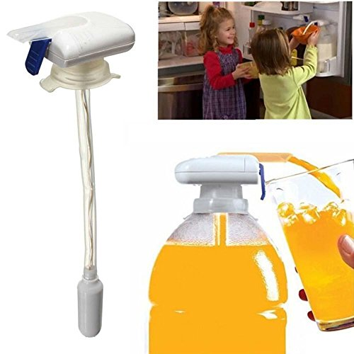 New Magic Tap Electric Automatic Water & Drink Beverage Dispenser Spill Proof (Magic Tap Dispenser compare prices)
