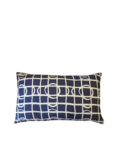 Pluto Throw Pillow, Navy As You See