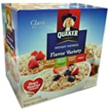Quaker Instant Oatmeal Packets Variety Pack, 52-Count, 71 Ounce