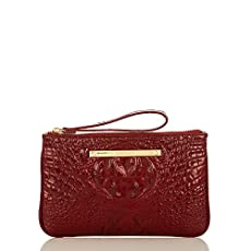 Sally Wristlet<br>Carmine Red Melbourne