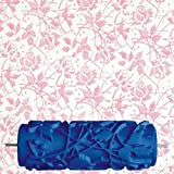 15cm DIY Floral and Dot Pattern Paint Roller for Wall Decoration 066Y