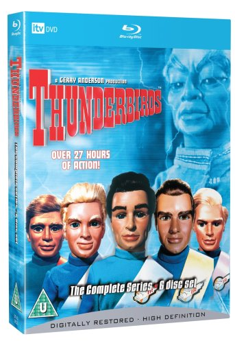 Thunderbirds Complete Series 6 Disc Blu-ray Set