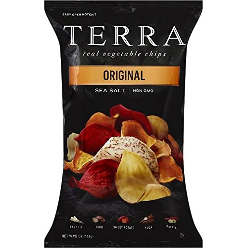 TERRA Original Real Vegetable Chips, Sea Salt, NON GMO, 15 oz Bag (Terra Chip Sea Salt compare prices)